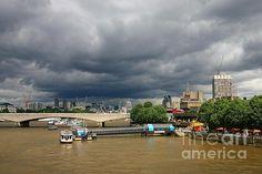 Stormy London - South Bank - Jeremy Hayden #london #cityscape
