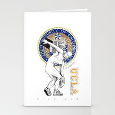 UCLA ...let there be light Stationery Cards by mauro mondin - $12.00
