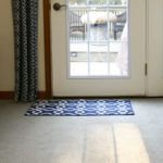 Tuftex loop nylom carpet by Shaw installed in family room