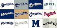 The Many Uniforms of the 2013 Brewers — Todd Radom Design American Sports, Milwaukee Brewers, Sports Brands, A Team, Wisconsin, Thoughts, Logos, Baseball, Logo