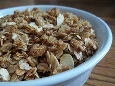 Karissa's Gluten-Free Recipes: Granola Cereal