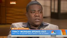 Tracy Morgan Speaks for the 1st Time Since His Accident Tracy Morgan  #TracyMorgan