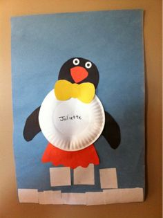 Penguin Shapes Craft