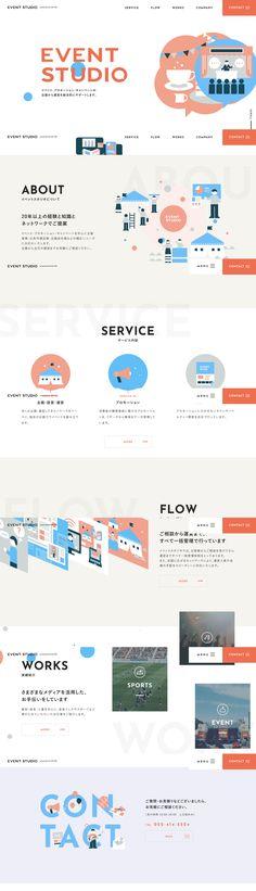 Web Design, Book Design, Layout Design, Graphic Design, Landing, Asia, Website, Colors, Illustration
