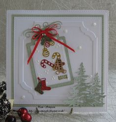 Christmas Cards 2017, Merry Christmas Banner, Xmas Cards, Holiday Cards, Christmas Ideas, Creation Crafts, Scrapbook Cards, Scrapbooking, Vintage Cards