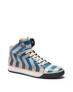 Lanvin - HIGH TOP SNEAKER - Sneakers - Men - New Arrivals