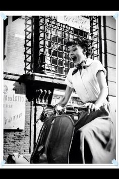 """""""I believe that laughing is the best calorie burner."""" Audrey Hepburn"""