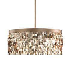 Tillie 3-Light Textured Gold Pendant Lighting Fixture by Uttermost