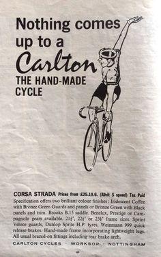 Carlton #cyclingposters  via @kandyprintshop