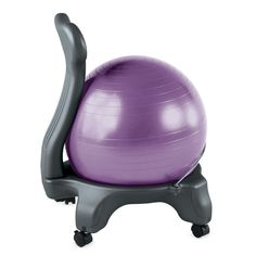 Classic Balance Ball Chair: Get fit while you sit with ergonomic support for a healthier back!