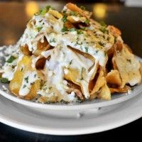 Blue Cheese Potato Chips >> They're like blue cheese nachos.