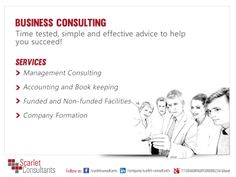 Get business consultancy and improve your ROI with the help of http://www.scarletconsultants.ae/
