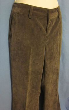 These think corduroy slacks from Coldwater Creek are a fan favorite! With a trouser fit - they're perfect for the office!