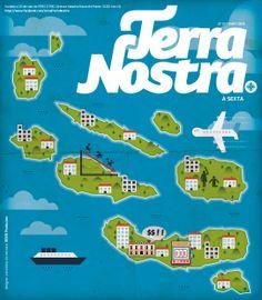 No final do mês de Dezembro, a DDDD Produções teve o privilégio de ser o designer convidado da semana no jornal regional Terra Nostra, onde ilustrou o especial fim de ano ''2013 em análise''.