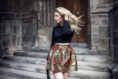 Flannel, Mini Skirts, Blouses, Photo And Video, Stylish, Floral, Instagram, Fashion, Atelier