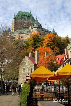 Fairmont Le Château Frontenac, Quebec City, Quebec, Canada