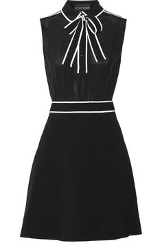 boutique-moschino-black-pussy-bow-silk-chiffon-and-stretch-crepe-mini-dress-product-3-108189341-normal.jpeg (1365×2048)