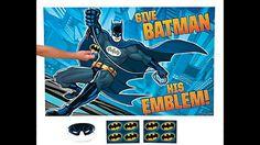 Batman Party Supplies   Batman Themed Party   Ezy Kids Parties