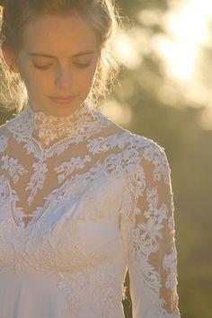 I Thee Wed Vintage Wedding Dress by silkwormvintage on Etsy, $132.00