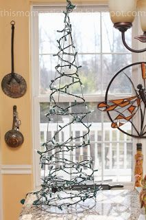 Loom Knitting by This Moment is Good!: LIGHTED MESH CHRISTMAS TREE...