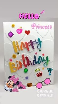 Happy Birthday Princess Happy Birthday Card Inspired by royszone Card, I just added my personal touch. The post Happy Birthday Princess & Cumpleaños appeared first on Happy birthday . Happy Birthday Greetings Friends, Birthday Wishes For Kids, Happy Birthday Princess, Happy Birthday Frame, Happy Birthday Cake Images, Happy Birthday Wishes Images, Happy Birthday Video, Happy Birthday Celebration, Birthday Wishes Messages