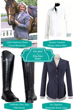 The 1824 Collection brings designs from favorite equestrian brands to plus size riders.
