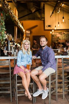 Brewery Engagement Session | Colorado Engagement | Boulder Engagement | Maxi Dress | June & Jae Photography