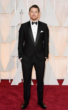 • Channing Tatum in Dolce & Gabbana | 2015 Oscars Red Carpet Arrivals •   #MyTailorIsFree #menstyle #gentlemen #classy #business #menstyle #fashion #gq #custommade #menstyle #suit #italian #frenchstyle #fashionformen #menswear #suitandties #bowtie #tie #citymen #smartlook #outfit #glamour #tuxedo #redcarpet