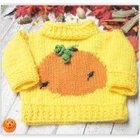 Pumpkin Patch Pullover - via @Craftsy