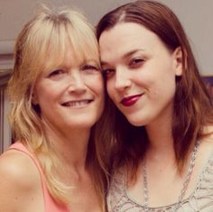 Lzzy and Her mom #Halestorm