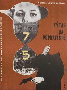 Posteritati - Elevator to the Gallows 1963 Czech Republic A3 (12x17)