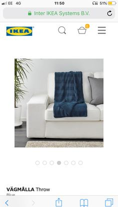 Blue Throws, Ikea, Lounge, Airport Lounge, Drawing Rooms, Ikea Co, Lounges, Lounge Music, Family Rooms