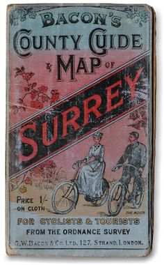 Late 1800s Cycling Maps