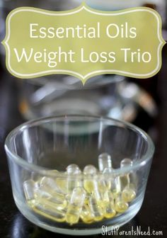 tutorial for making a natural weight loss aid with essential oils