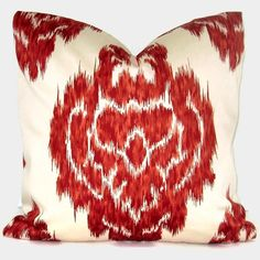 red ikat, etsy