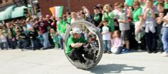 Engineering fun is part of the tradition in Rolla, #Missouri, on St. Pat's Day.