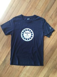 Men's Nelson NZ Viewfinder T Shirt Denim by SonjaHandcraftedTees