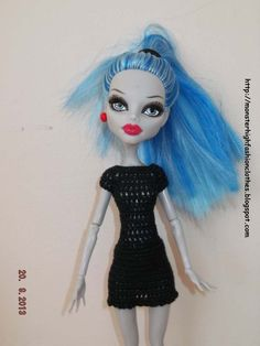 Ropa para muñecos - Ropa Monster High: v73 - hecho a mano por mamimonster en DaWanda.  http://monsterhighfashionclothes.blogspot.com http://mymonsterhighboutique.dawanda.com