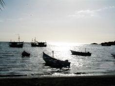 Hermoso atardecer en Juan Griego Isla de Margarita