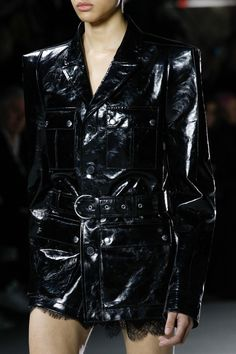 See detail photos for Saint Laurent Fall 2017 Ready-to-Wear collection.