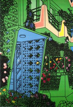 Patrick Caulfield, entrance