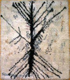 Rya Rug, Wool Rug, Tapestry Weaving, Bohemian Rug, Carpet, Hair Accessories, Rugs, Design, Farmhouse Rugs