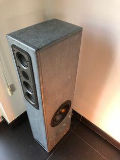 Great design, Great sound. MTC loudspeaker design. Updating this cabinet with monitor audio wss430 (incl ribbon tweeter), en Seas woofers.   Sales en installation bij DOVEL mail to info@dovel.be   tel 0032 9 3558014 - 0032 477 840 893