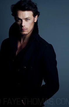 Sam Heughan.  Holy crap.  He's stunning.....
