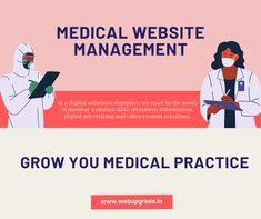 Medical Websites, Web Analytics, Web Technology, Create Website, Innovation, Advertising, Management, Good Things, Marketing