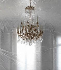 {holiday inspiration : chandeliers and champagne & happy december} by {this…