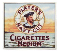 Cigarette packet, John Player & Sons c.1940-1959