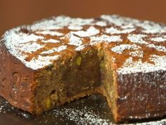 Date, Pistachio and Cardamom Cake : Recipes : Cooking Channel - Aarti Sequeira