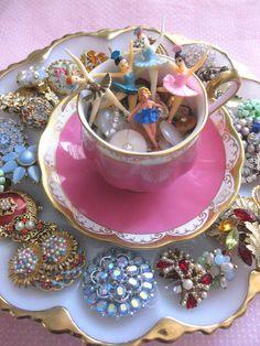 pink...jewels..ballerinas