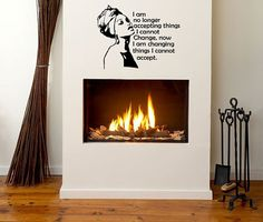 24 in Change Wall Decal- Natural Hair, Wall Decal, Afro Hair